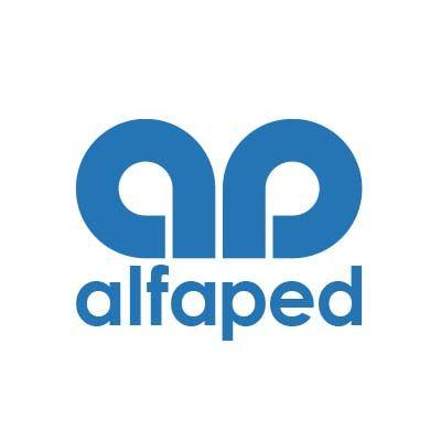 alfaped logo kék háttér nélkül